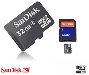 32 GB Micro SD Carte mémoire SDHC pour tablette/iPad/iPone/Smart Téléphone (avec adaptateur SD) pour ordinateur de bureau/ordinateur portable/PC/Digital Camera/caméscope/iPhone 3 4 5/Nokia/Samsung/Galaxy S2/S3/S4 S5 S6 SanDisk 32 Go 32 G 32 G Sony Ericson image 0 produit
