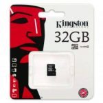 Kingston - SDC4/32GBSP - Carte Micro SDHC - Classe 4 - 32 Go sans Adaptateur de la marque Kingston Technology image 1 produit