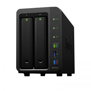 Synology DS716+II/8 TB WD RED Serveur NAS 2 Baies de la marque Synology image 0 produit