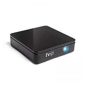 TVIP S Box v.415 IPTV HD Android 4.4 HEVC Linux Stalker Ip Interne Multimédia TV Streamer 512 Mo RAM + 4 Go Flash, microSD Card, ext. IR, 2,4/5 Ghz WiFi de la marque TVIP image 0 produit