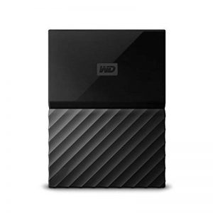 WD My Passport 2 TB Portable Hard Drive and Auto Backup Software for PC, Xbox One and Playstation 4 - Black de la marque Western Digital image 0 produit