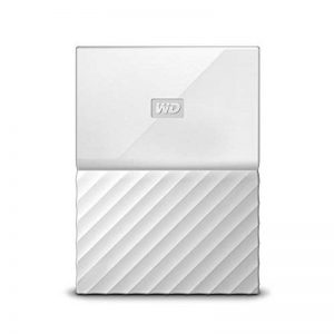 WD My Passport 2 TB Portable Hard Drive and Auto Backup Software for PC, Xbox One and Playstation 4 - White de la marque Western Digital image 0 produit