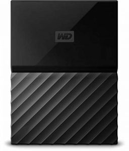 WD My Passport 4 TB Portable Hard Drive and Auto Backup Software for PC, Xbox One and PlayStation 4 - Black de la marque Western Digital image 0 produit