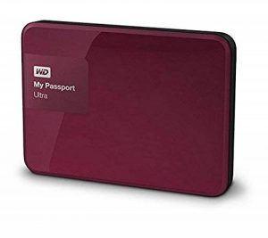 WD My Passport Ultra Disque Dur Externe Portable 1 to Baie Rose - USB 3.0 - WDBGPU0010BBY-EESN de la marque Western Digital image 0 produit