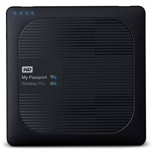 WD My Passport Wireless Pro Disque Dur Externe Portable 2 To - WIFI USB 3.0 - WDBP2P0020BBK-EESN de la marque Western Digital image 0 produit